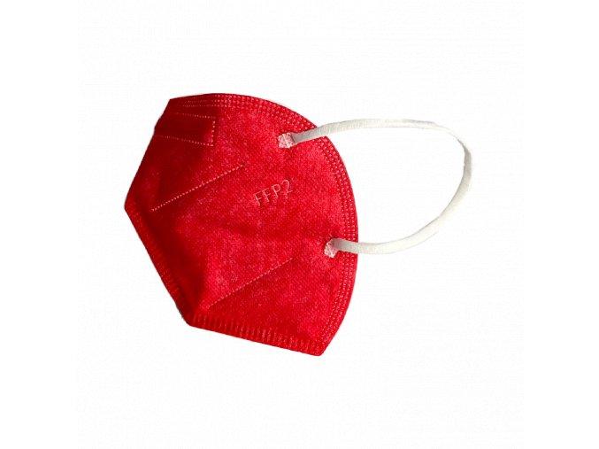 červený respirátor 1
