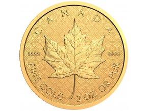 2oz 140769 royal canadian maple leaf zlata mince 2 oz 2021 15289996