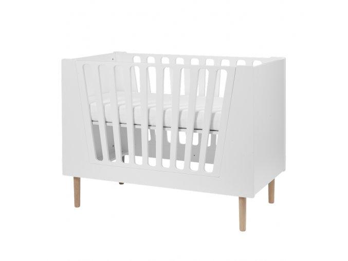 Dětská postýlka 140x70 cm - bílá