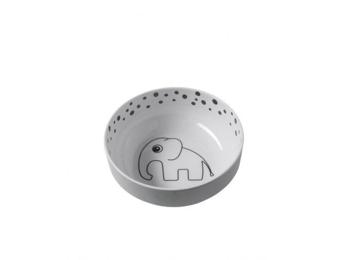 Mistička Happy Dots Yummy - šedá