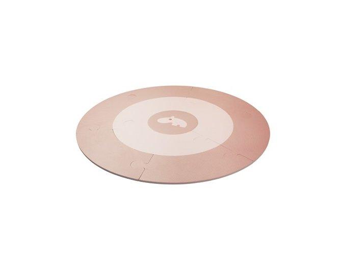 Pěnová hrací podložka - růžová (POŠKOZENÝ OBAL)