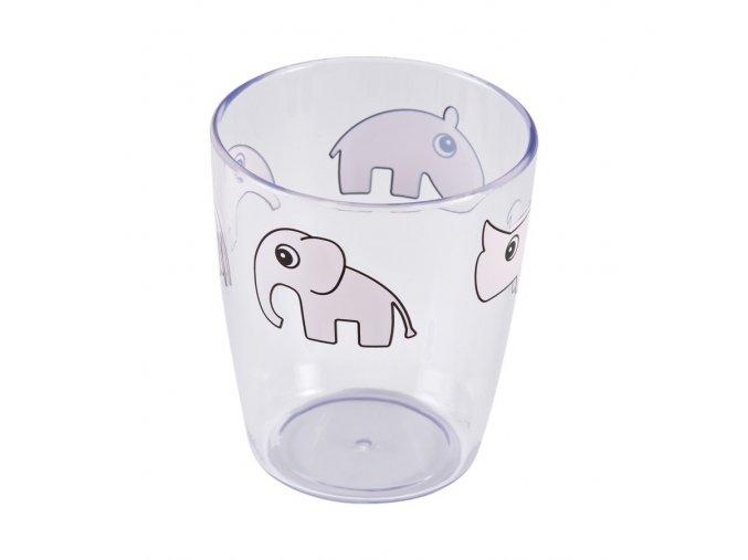 Yummy mini sklenička - růžová