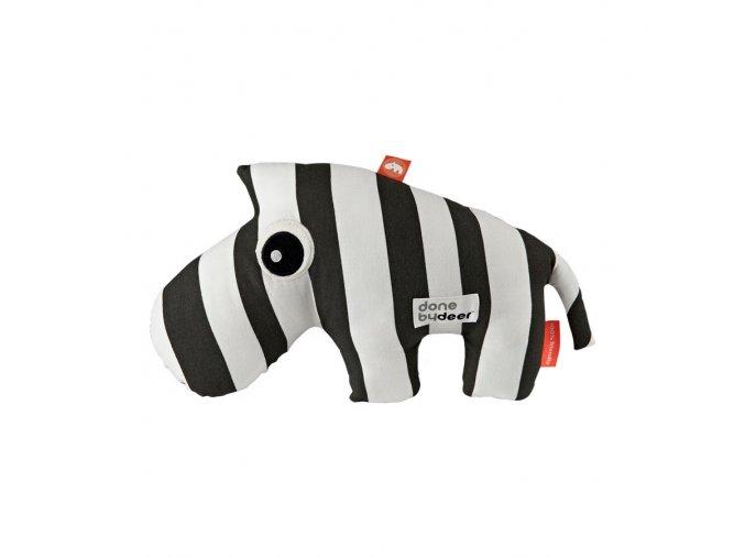 Mazlivá hračka Zebee - černé proužky