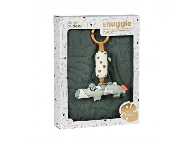 Dárkový set deka a hračka na cesty - Tiny tropics
