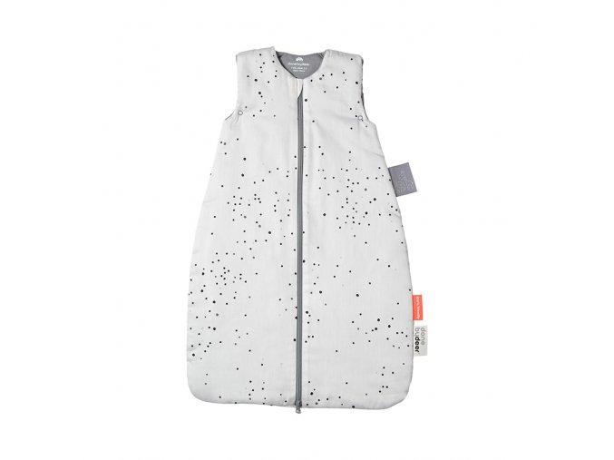 Spací pytel Dreamy dots 90cm/TOG 2.5 - bílý