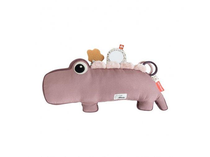 Aktivní hračka Croco - růžová