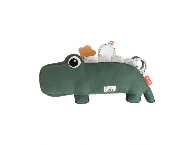 Aktivní hračka Croco - zelená