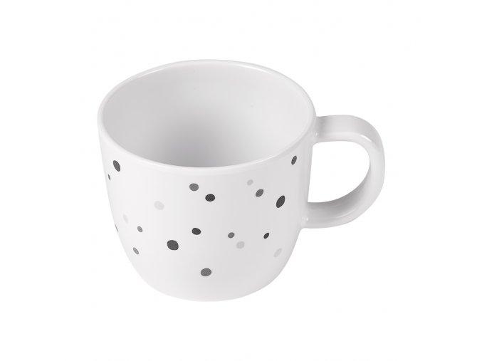 Hrníček Dreamy Dots - šedý