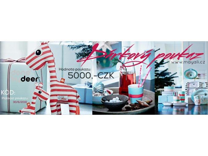 Dárkový poukaz - 5000,-CZK