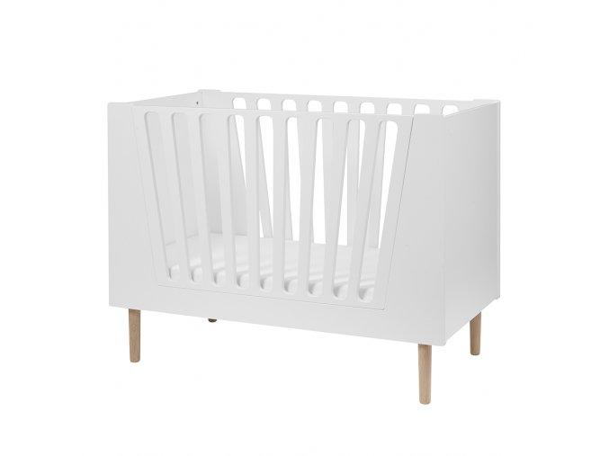 Dětská postýlka 70x140 cm - bílá