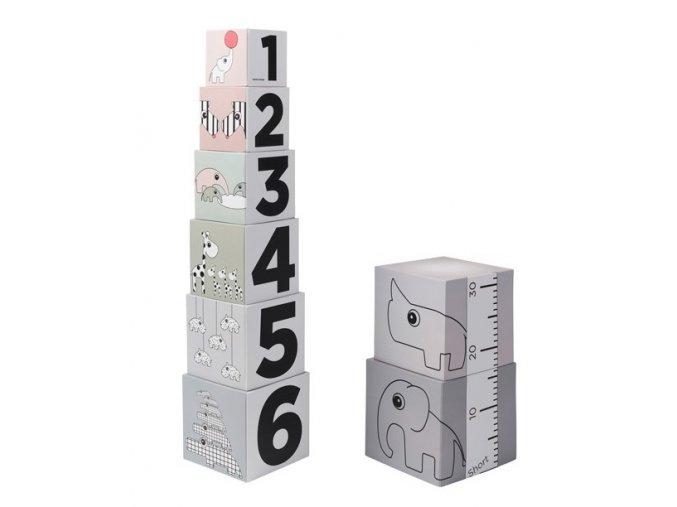 Stohovací kostky 123