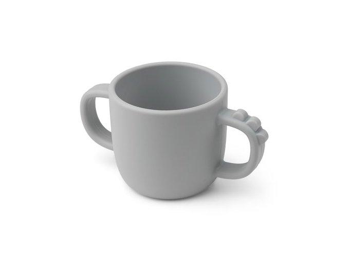 Peekaboo hrneček Croco - šedý