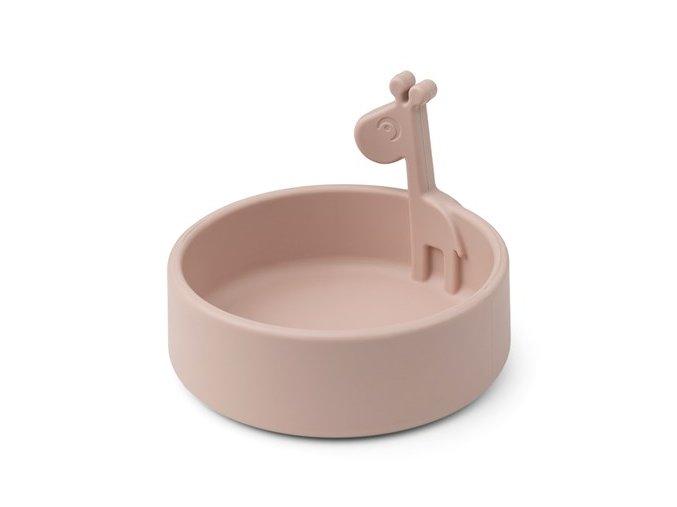 Peekaboo miska Raffi - růžová