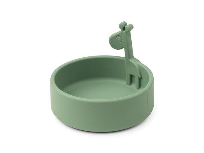 Peekaboo miska Raffi - zelená