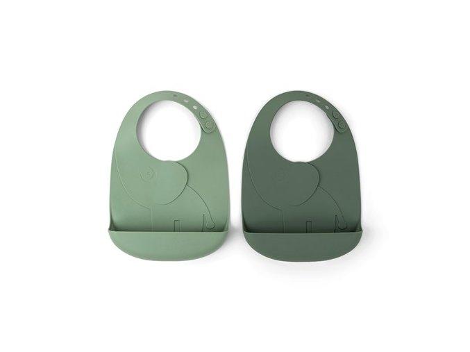 Peekaboo set 2ks bryndáčků Elphee - zelené