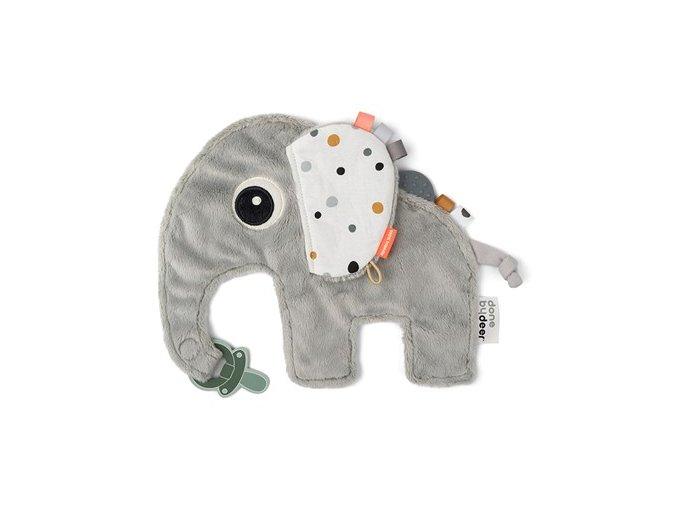 Přítulka sloník Elphee - šedý NEW