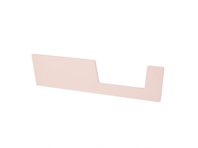 Zábrana k postýlce 120x60 cm - růžová