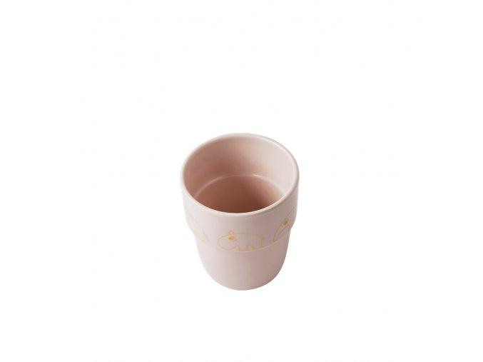 Hrníček Contour Yummy mug - růžová/zlatá