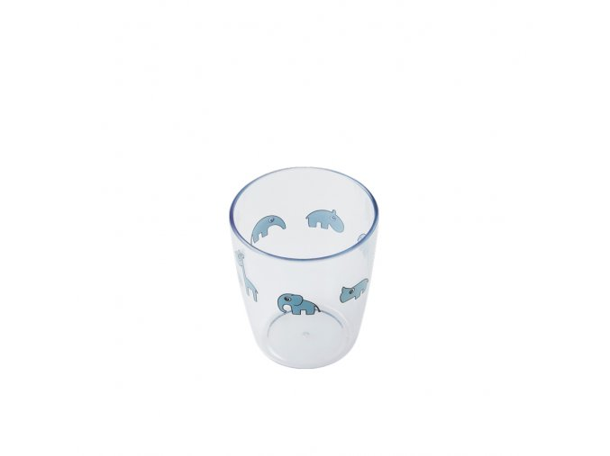 Yummy mini sklenička - modrá