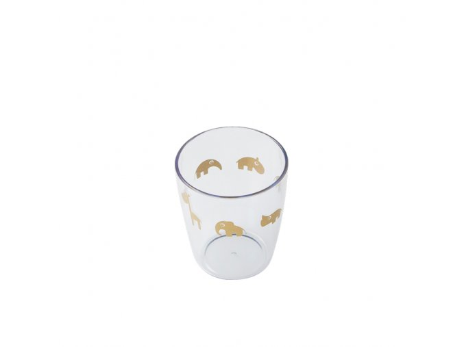 Yummy mini sklenička - zlatá
