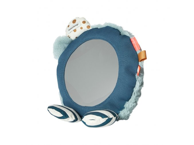 Zrcadlo na podlahu - modré