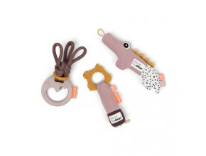 Tiny aktivní hračky - dárkový set růžový