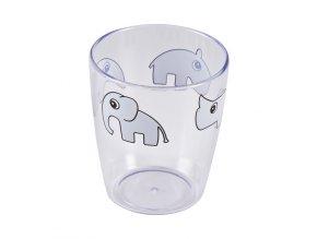 Yummy mini sklenička - šedá