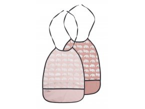 Set 2 ks bryndáčků - odstíny růžové