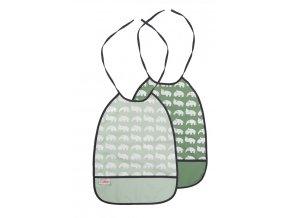 Set 2 ks bryndáčků - odstíny zelené