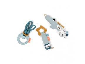 Tiny aktivní hračky - dárkový set modrý