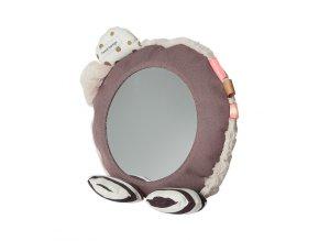 Zrcadlo na podlahu - růžové