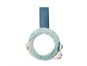 Zrcátko s klipem - modré