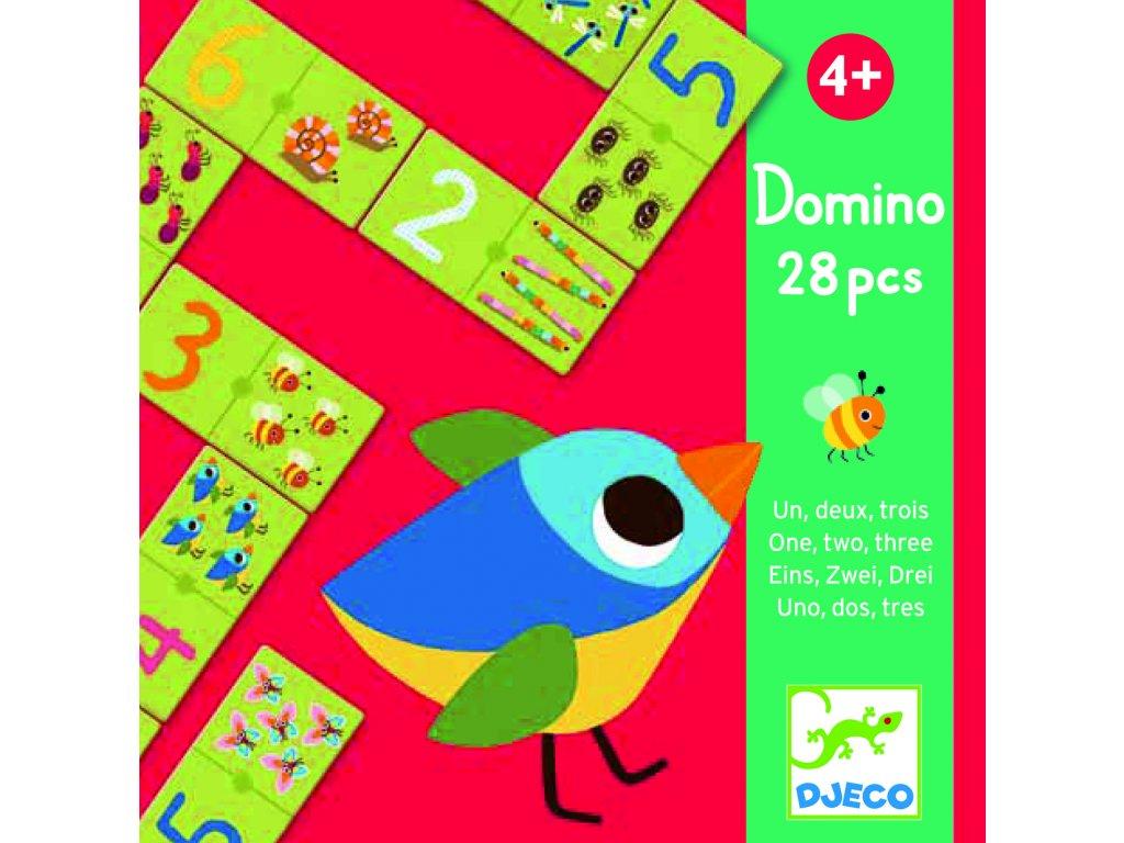Djeco Domino - Veselé počítání