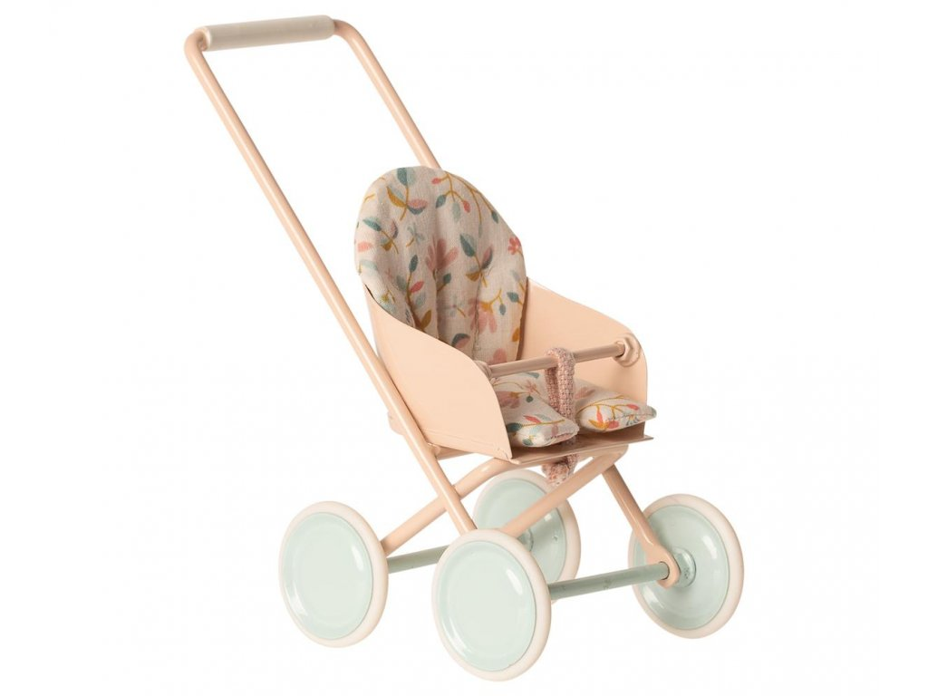 Maileg Kočárek na miminko - pink