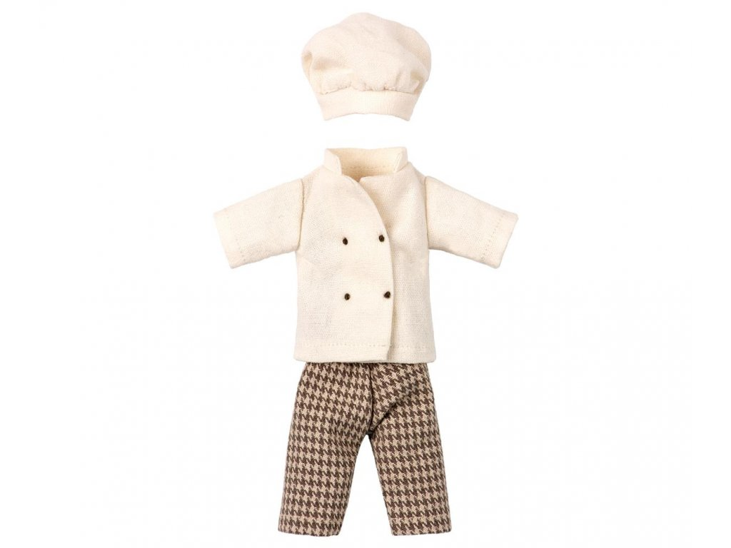 Maileg Šaty pro myšího šéfkuchaře
