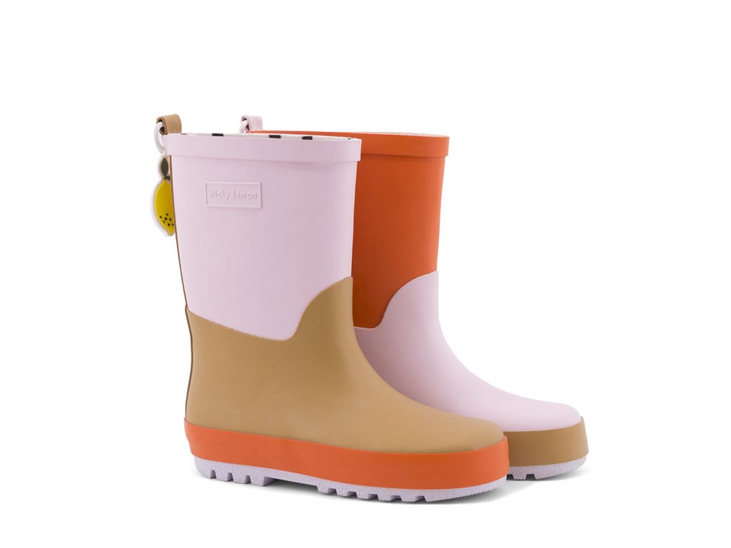 18082 product Sticky Lemon rain boots