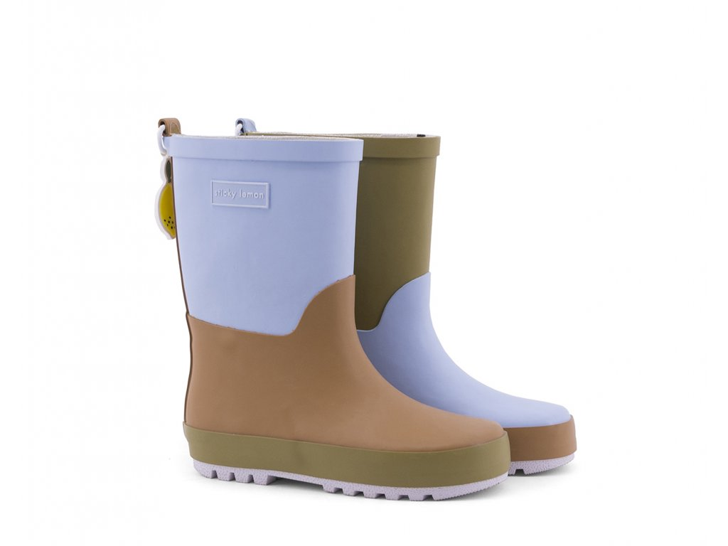 18084 product Sticky Lemon rain boots