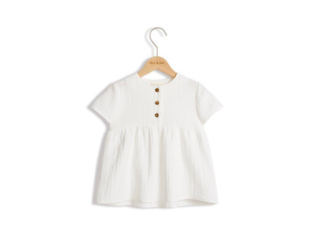 Roe&Joe Bavlněná tunika bílá