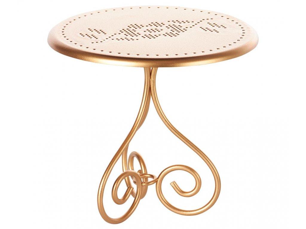 table gold mini