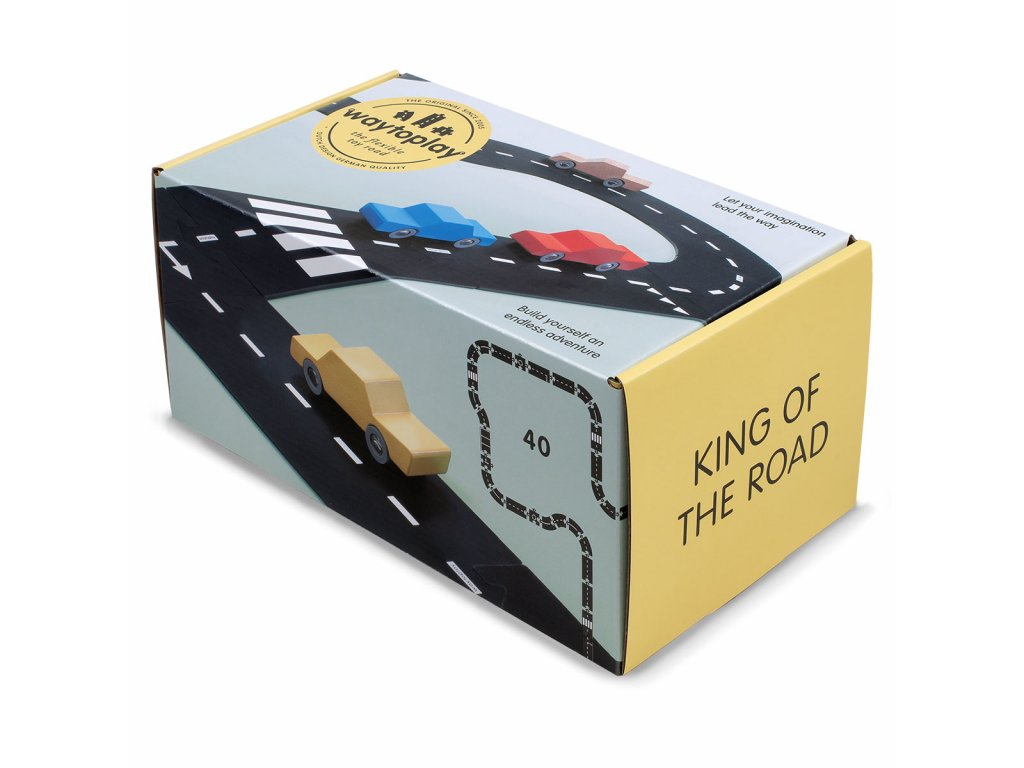 BOX in WHITE 40 KING OF THE ROAD