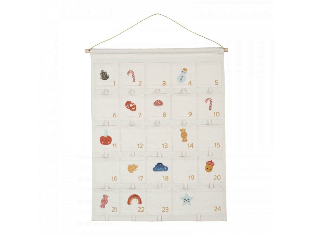 Wall Calendar Embroidered (primary)