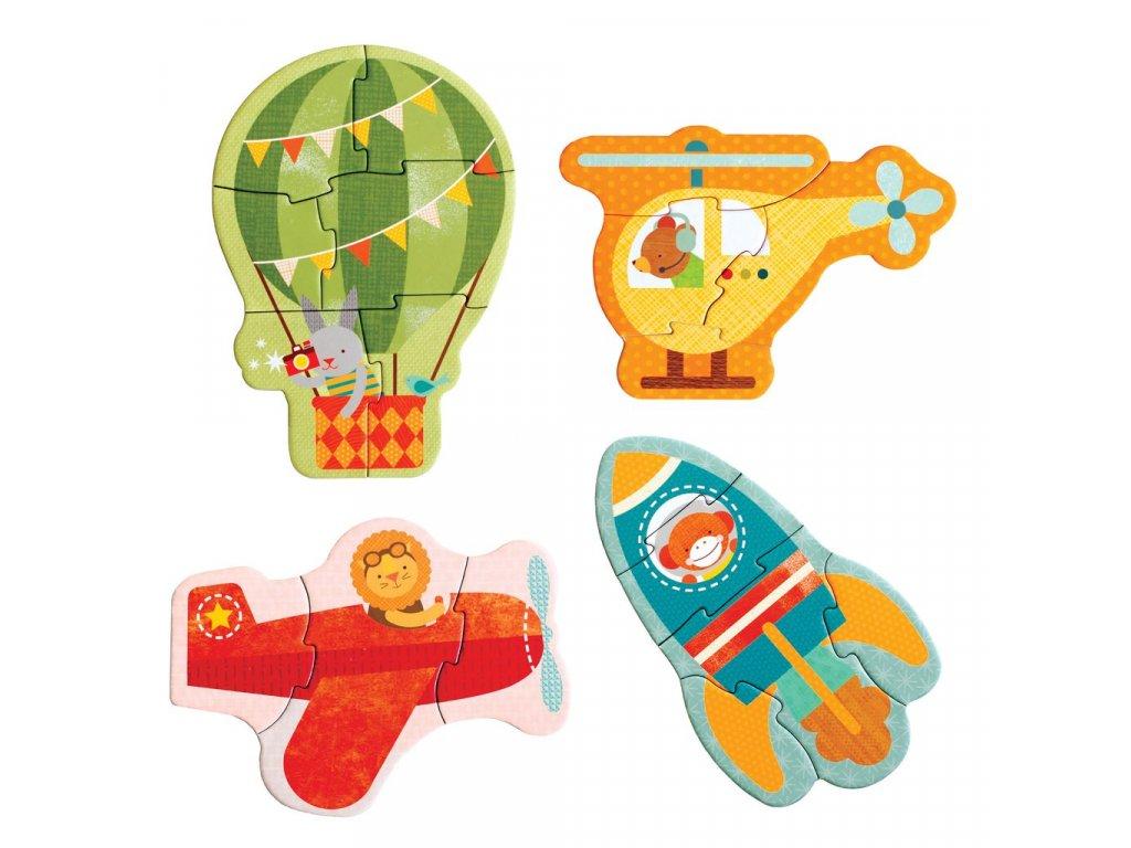 Petitcollage První puzzle - Letecké prostředky