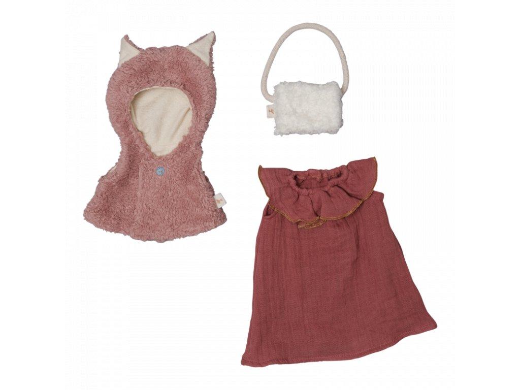 Doll Clothes set Fox cape (primary)