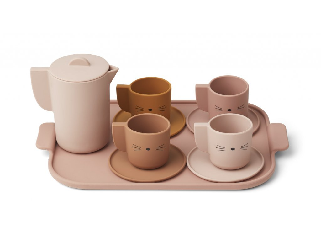 LW12828 Ophelia tea set 2255 Rose multi mix Main