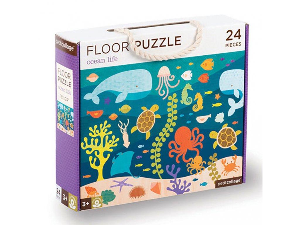 Petitcollage Podlahové puzzle - Život oceánů