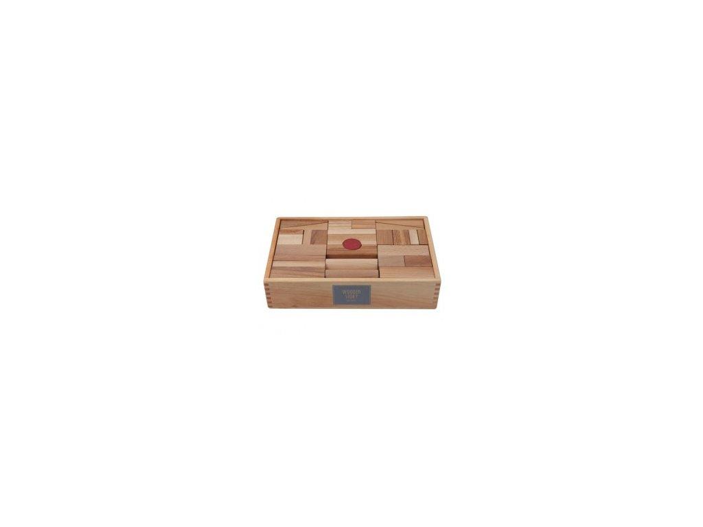 natural blocks xl 63pcs in tray