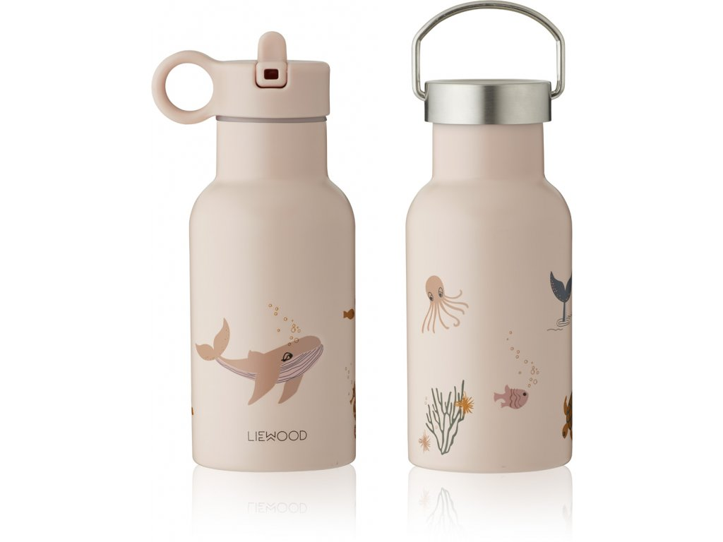 LW13072 Anker water bottle 0286 Sea creature rose mix Extra 0
