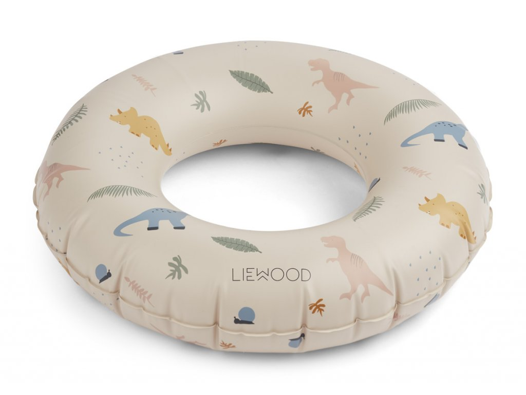 LW12908 Baloo swim ring 0240 Dino mix Extra 0