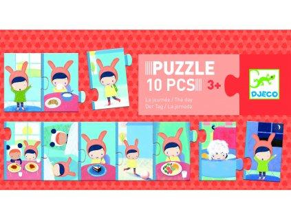 Djeco Trio puzzle - Denní činnosti