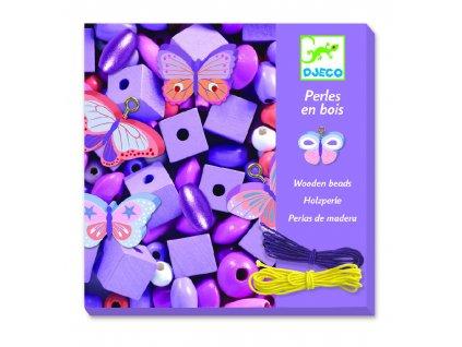 Djeco Tvoření šperků - korálky Malý motýlci